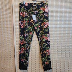 Guess Annora Active Print Leggings Tropical Floral